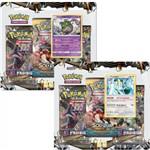 Cards Pokémon Sol e Lua Luz Proibida Garbodor e Regigigas