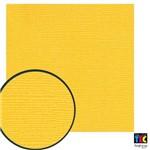 Cardstock Texturizado Toke e Crie Amarelo - 14837 - Pcar406