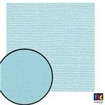 Cardstock Texturizado Toke e Crie Azul Pastel - 9689 - Pcar027