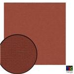 Cardstock Texturizado Toke e Crie Marrom Tijolo - 9700 - Pcar038