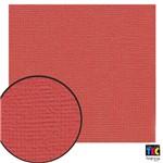 Cardstock Texturizado Toke e Crie Vermelho Escarlate - 7961 - Pcar020