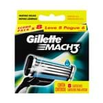Carga Gillette Mach3 Leve 8 Pague 6