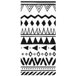 Carimbo de Borracha Litoarte CLP-143 Textura Peruana