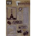 Carimbo de Silicone Ii Paris C/Texto 14x18 Cas17 Tec