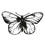 Carimbo em Borracha Borboleta Clp-052 - Litoarte