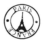 Carimbo em Borracha Litoarte CLP-059 Selo Paris