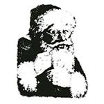 Carimbo em Borracha Litoarte CLPN-009 Papai Noel