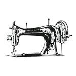 Carimbo em Borracha Máquina de Costura Clp-006 - Litoarte