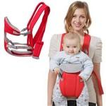 Carregador de Bebê Canguru Baby Carrier Wrap Sling Vermelho