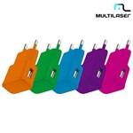 Carregador de Parede USB SmartTogo Multilaser CB080