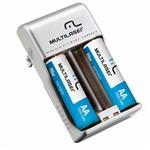 Carregador de Pilhas Aa/aaa 2x Rm01 Multilaser Cb048