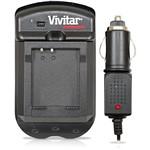 Carregador P/ Baterias de Câmeras Fotográficas Panasonic - Bivolt/Veicular - Vivitar
