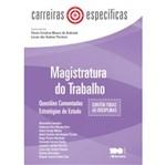 Carreiras Especificas - Magistratura no Trabalho - Saraiva