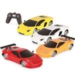 Carrinho Controle Remoto Luxury Sport Car 7 Func. 1:18