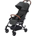 Carrinho de Bebê 4 Rodas Maxi-Cosi Laika Sparkling com Assento Inclinável Cinza Escuro
