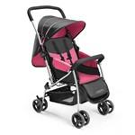 Carrinho de Bebê Até 15Kg Berço Flip Rosa Multikids Baby