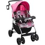 Carrinho de Bebê Burigotto At6 K - Bike Rosa