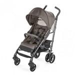 Carrinho de Bebê Chicco Lite Way 3 Basic Dove Grey 5 Posições Até 15kg