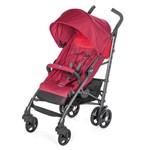 Carrinho de Bebê Chicco Lite Way 3 Basic Red Berry 5 Posições Até 15kg