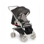 Carrinho de Bebê Maranello II Preto/Bege + Bebê Conforto Cocoon Galzerano