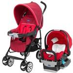 Carrinho de Bebê Neuvo + Bebê Conforto Key-fit Chicco Fuego