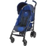 Carrinho de Bebê Passeio Chicco Lite Way Azul 3 Posições