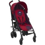 Carrinho de Bebê Passeio Chicco Lite Way Vermelho 3 Posições