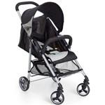 Carrinho de Bebê Tilly + Bebê Conforto Coccon Dzieco Preto/cinza