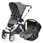 Carrinho de Bebê Travel System ABC Design Salsa 4 + Bebê Conforto Race