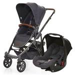 Carrinho de Bebê Travel System ABC Design Salsa 4 + Bebê Conforto Style Street