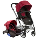 Carrinho de Bebê Travel System Epic Lite Cherry - Infanti