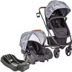 Carrinho de Bebê Travel System Kiddo Nexus Preto + Base