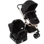 Carrinho de Bebê Travel System Mobi Trio Ed Especial Preto/Rosé - Safety 1st