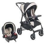 Carrinho de Bebê Travel System Módulo com Bebê Conforto - Burigotto