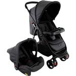 Carrinho de Bebê Travel System Nexus - Preto Mescla - Cosco