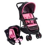 Carrinho de Bebê Travel System Nexus Rosa - Cosco
