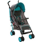 Carrinho de Bebê Umbrella Ride Azul Aqua - Cosco