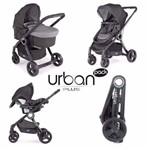Carrinho de Bebê Urban Anthracite Plus Chicco Completo