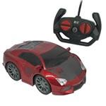 Carrinho de Controle Remoto - Famous Car - Vermelho - Candide