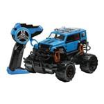 Carrinho de Controle Remoto - Série Garagem S/a - Raptor - Azul - Candide