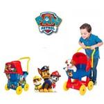 Carrinho de Passeio Azul para Filhotes Paw Patrol Ref. 2145 Cotiplás