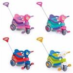 Carrinho de Passeio Infantil Triciclo Velocita com Empurrador