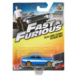 Carrinho Die Cast - Hot Wheels - Velozes e Furiosos - 1970 Ford Escort Rs 1600 Mk1 - Mattel