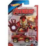 Carrinho Hot Wheels Avengers Age Of Ultron Homem de Ferro - Mattel