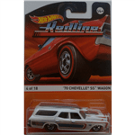 Carrinho - Hot Wheels Classicos - 70 Chevelle SS Wagon