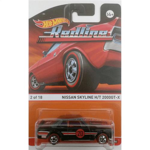 Carrinho - Hot Wheels Classicos - Nissan Skyline H/T 2000GT-X