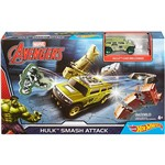 Carrinho Hot Wheels Marvel Pista Hulk DKT27/DKT29
