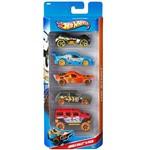 Carrinho Hot Wheels Pacote com 5 Carros Jungle Rally 5 - Mattel