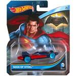 Carrinho Hot Wheels - Personagens Dc Comics - Man Of Steel - Mattel