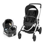 Carrinho para Bebê Travel System com Bebê Conforto Elea Raven Preto - Maxi Cosi